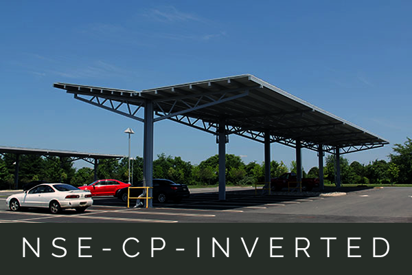 The inverted option provides an aesthetic and functional design to increase PV efficiency.